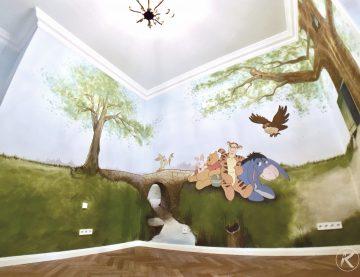 Rundum-Bemalungen – Den Raum neu interpretieren