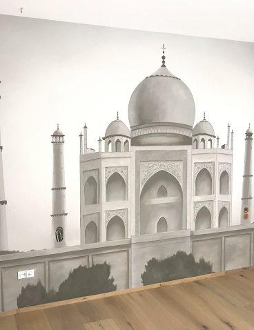 Taj Mahal – indische Malerei