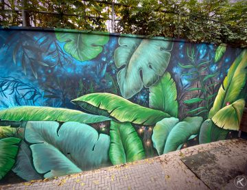 Streetart Wandgestaltung