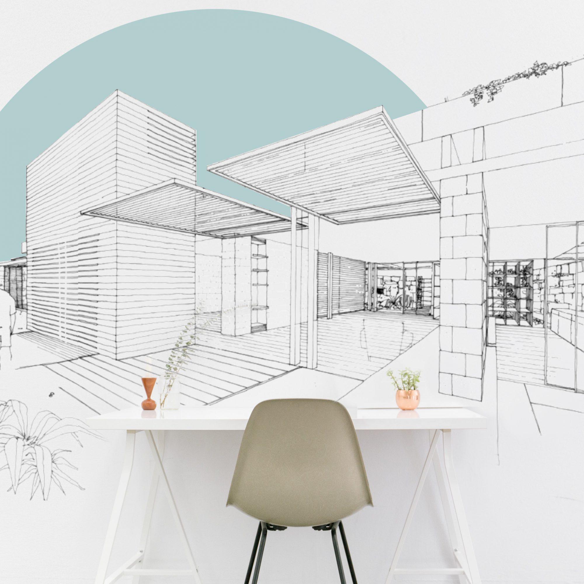 Büro Wand-Design