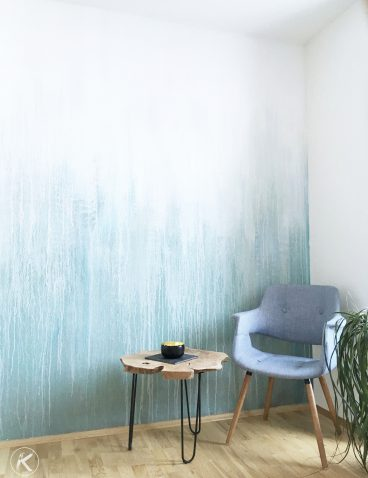 Moderne Wandmalerei