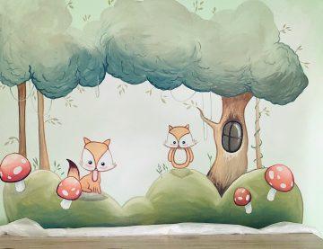 Personalisierte Wandgestaltung im Kinderzimmer